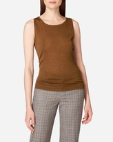 N.Peal Super Fine Cashmere Shell Top