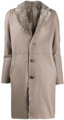 Giorgio Brato Reversible Single Breasted Coat