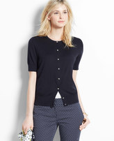 Ann Taylor Tall Short Sleeve Ann Cardigan