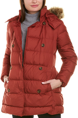Brooks Brothers Quilted Down Coat