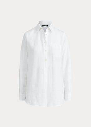 Ralph Lauren Linen Long-Sleeve Shirt