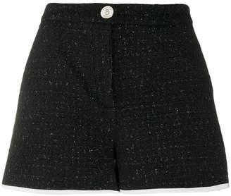 Moschino tweed mini shorts