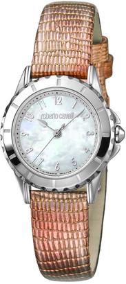 Roberto Cavalli Women's Leather Watch