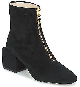 Miss L Fire Miss L'Fire JUNE women's Low Ankle Boots in Black