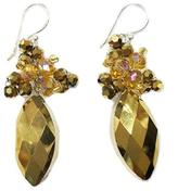 Ananda Crystal Drop Earrings