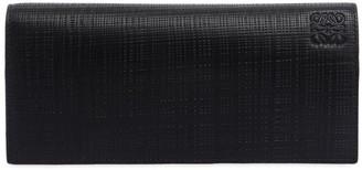 Loewe Horizontal Textured Leather Wallet