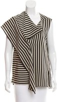 Christian Wijnants Asymmetrical Striped Top w/ Tags