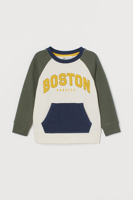 H&M Pocketed sweatshirt