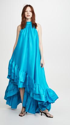 Azeeza High Neck Gown