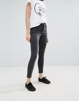 Cheap Monday High Rise Spray Waxed Skinny Jeans