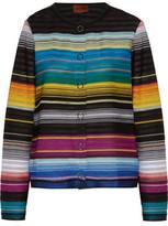 Missoni Striped Crochet-Knit Jacket