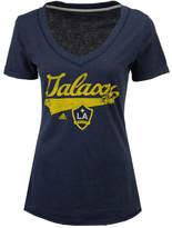 adidas Women's La Galaxy Tail Stack T-Shirt