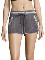 Blanc Noir Venice Silk Shorts