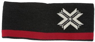 Dale of Norway Are Headband (Dark Charcoal/Off-White/Raspberry) Headband