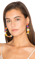 Mercedes Salazar Fiesta Hoop Earrings