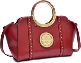 Dasein Red Emblem Diorno Satchel