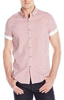 Kenneth Cole Reaction Men's Ss Bdc Dot Print