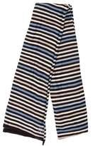 Sonia Rykiel Silk Striped Scarf