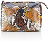 The Row Women's Two For One 12 Python Pouch