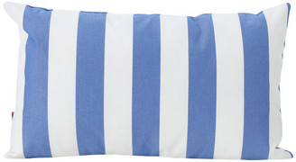 Gdfstudio GDF Studio La Mesa Indoor Striped Rectangular Pillow, Blue, Single