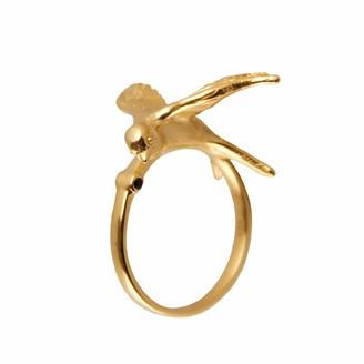 Roz Buehrlen Statement Swallow Ring