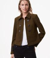 LOFT Embellished Military Jacket