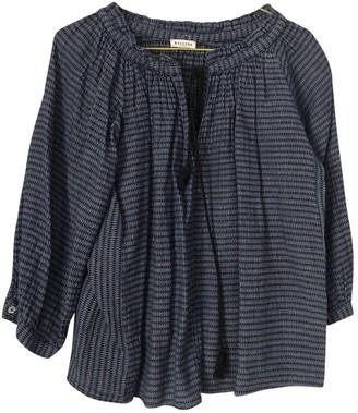Masscob Blue Cotton Top for Women