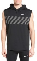 Nike Men's Sleeveless Running Hoodie