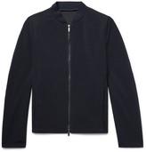 Giorgio Armani - Slim-fit Textured-wool Bomber Jacket