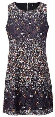 Dorothy Perkins Womens *Izabel London Black Ditsy Floral Print Shift Dress, Black