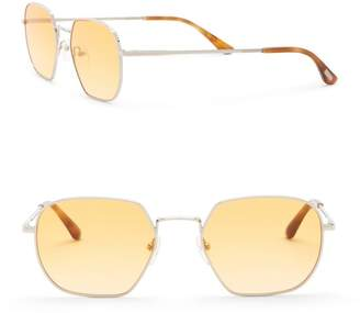 Toms 52mm Sawyer Round Sunglasses