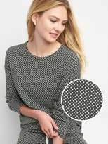 Gap Dot double-knit pullover
