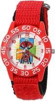 Marvel Boy's 'Ant-Man' Quartz Plastic and Nylon Automatic Watch, Color: (Model: W003107)
