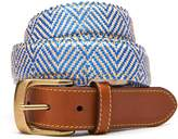 J.Mclaughlin Tim Belt in Geo Diamond Stripe