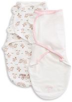 Little Me 2-Pack Patterned Swaddling Cloth Set
