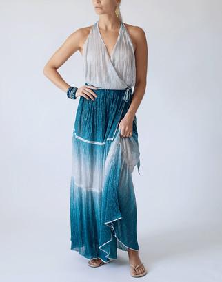 CHIO Long Maxi Wrap Dress