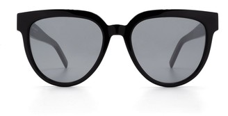 Saint Laurent Eyewear SL M28 Cat-Eye Frame Sunglasses