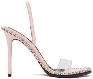 Alexander Wang Pink Nova Heeled Sandals