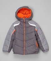 Hawke & Co Smoked Pearl Quilted Bubble Jacket - Boys