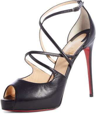 Christian Louboutin Holly Alta Peep Toe Platform Sandal