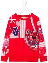 Kenzo embroidered intarsia sweater