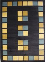 Blue Area Paver Rug (5'2 x 7'6)