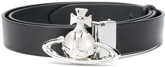 Vivienne Westwood Orb-buckle leather belt