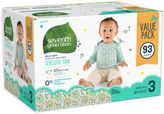 Seventh Generation Seventh GenerationTM 93-Count Size 3 Free & Clear Diapers