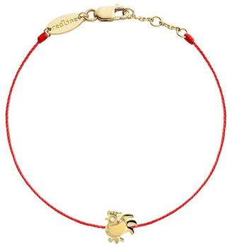 Redline Diamond Rooster Red Bracelet