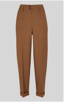 Whistles Tapered Button Front Trouser