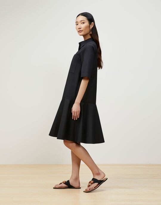 Thumbnail for your product : Lafayette 148 New York Bailey Shirtdress In Italian Sculpted Kindcotton