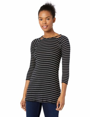 O'Neill Women's Millie Stripe Knit Dress with Cut Out Detail