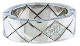 Chanel 18K Diamond Coco Crush Ring