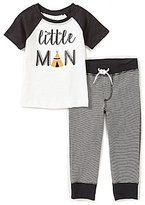Starting Out Baby Boys 12-24 Months Little Man Top & Striped Pants Set